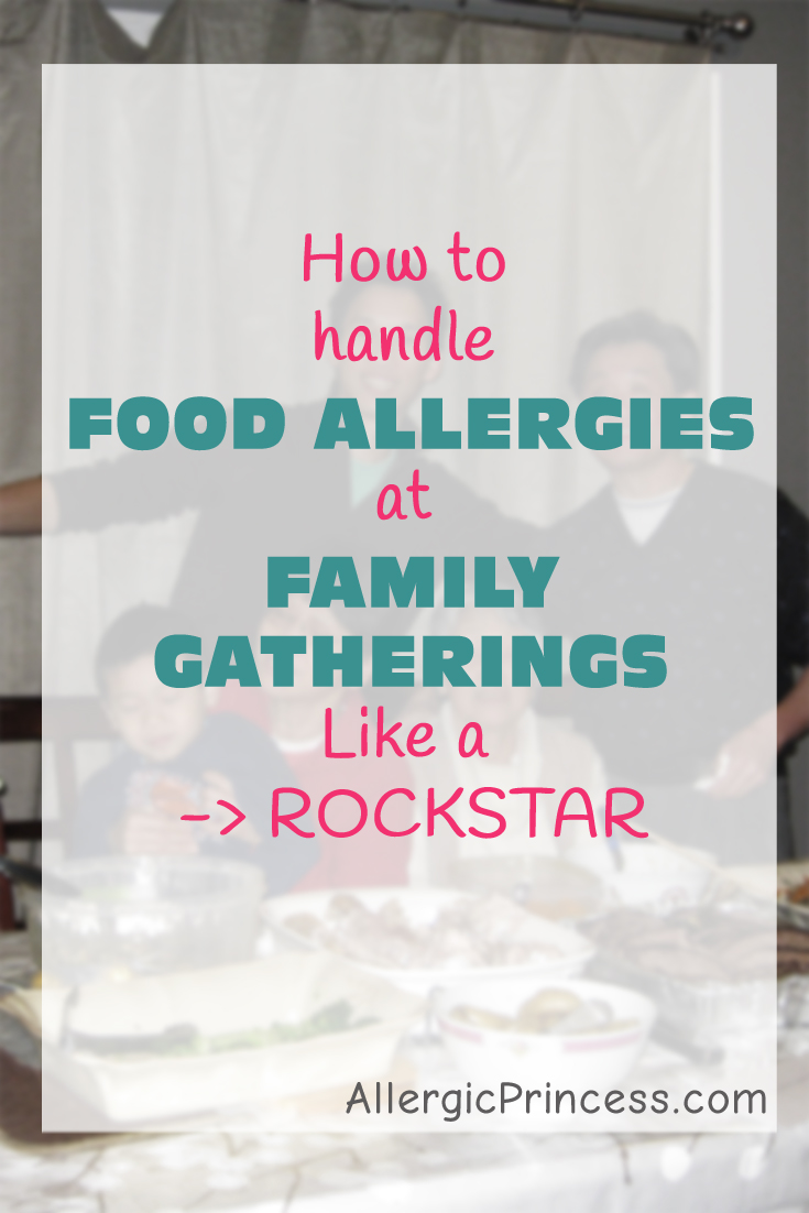 family gathering food allergy