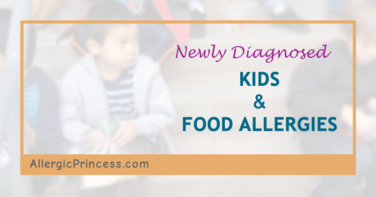 newly diagnosed kids with food allergies