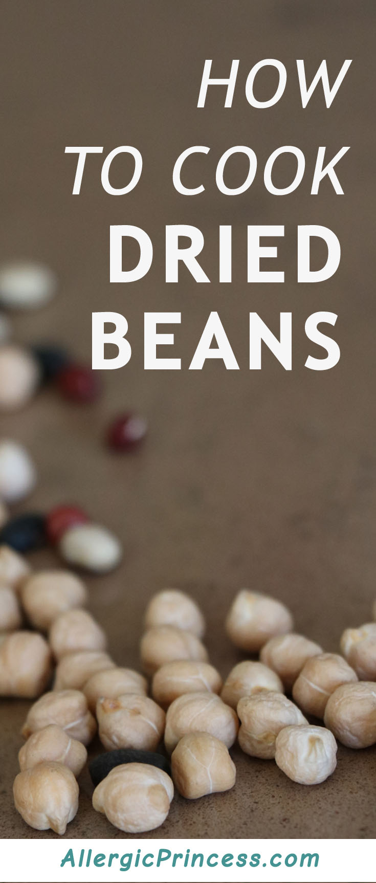 Don't let dried beans scare you off, cooking them is super easy!