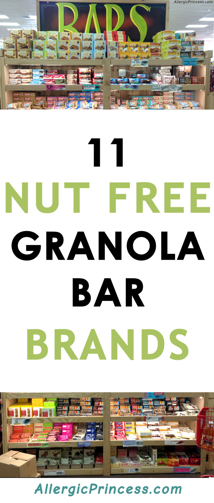 11 Nut Free Granola Bar Brands that will make your life a whole lot easier!
