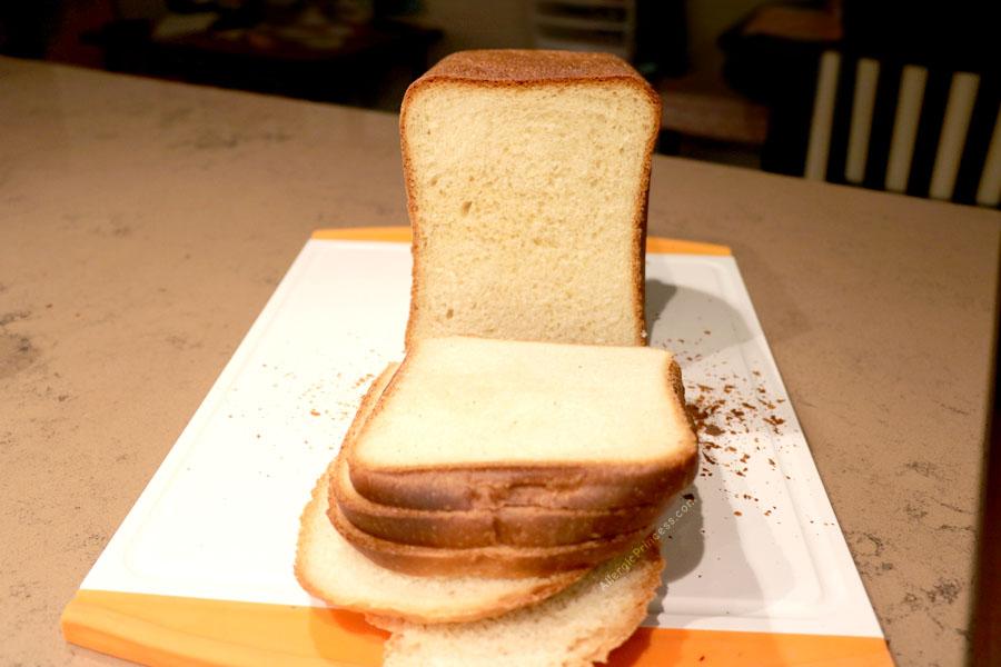 dairy free bread machine white bread