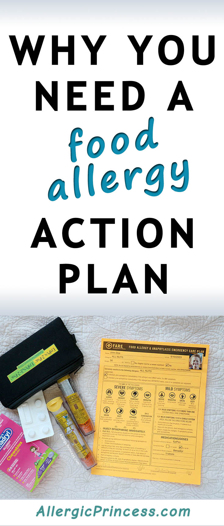 Have an EpiPen? You'll need a Food Allergy Action Plan too!