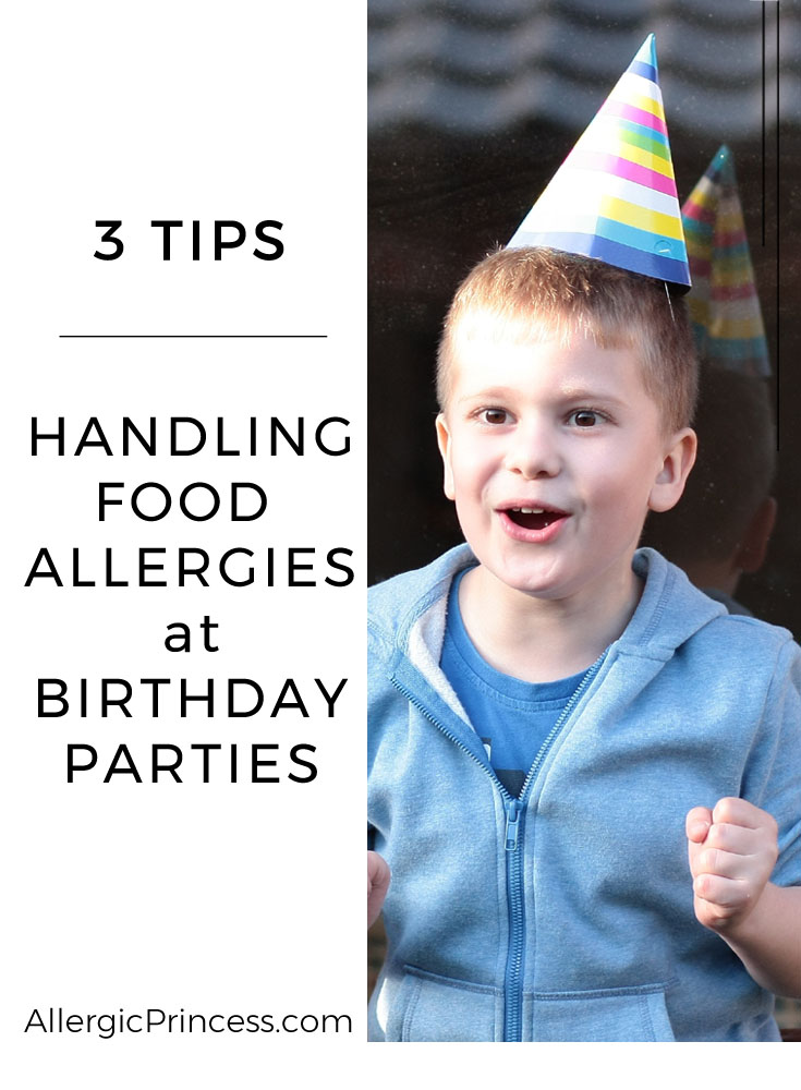 Not to worry! These tips for handling food allergies at birthday parties will work for you!