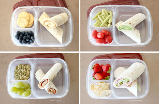 Allergy Friendly Lunches