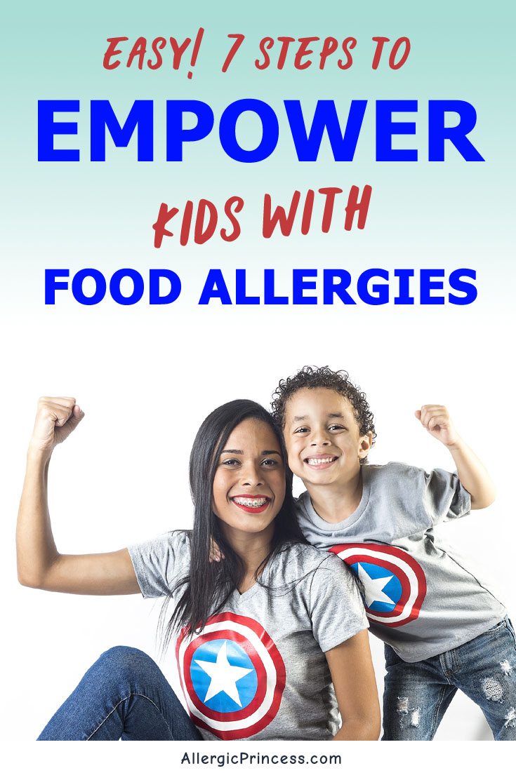 Make safe choices and speak up. Empower kids with food allergies.