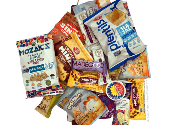 nut free snacks