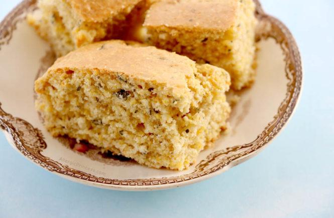 basil cornbread dairy-free nut-free