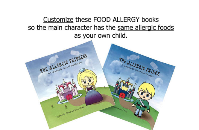 kids food allergy book