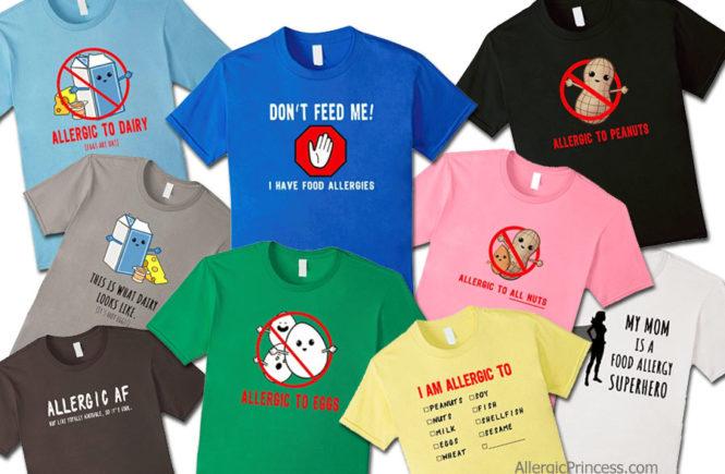 food allergy t-shirt