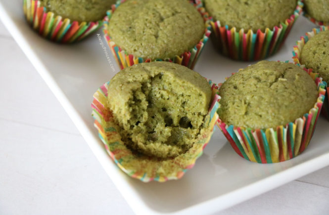 matcha muffins dairy free vegan
