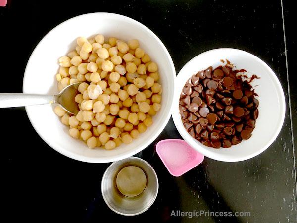 chocolate hummus sesame free tahini free