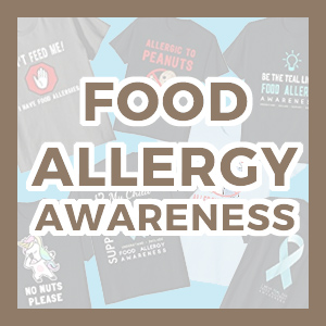 food allergy awareness tee shirts