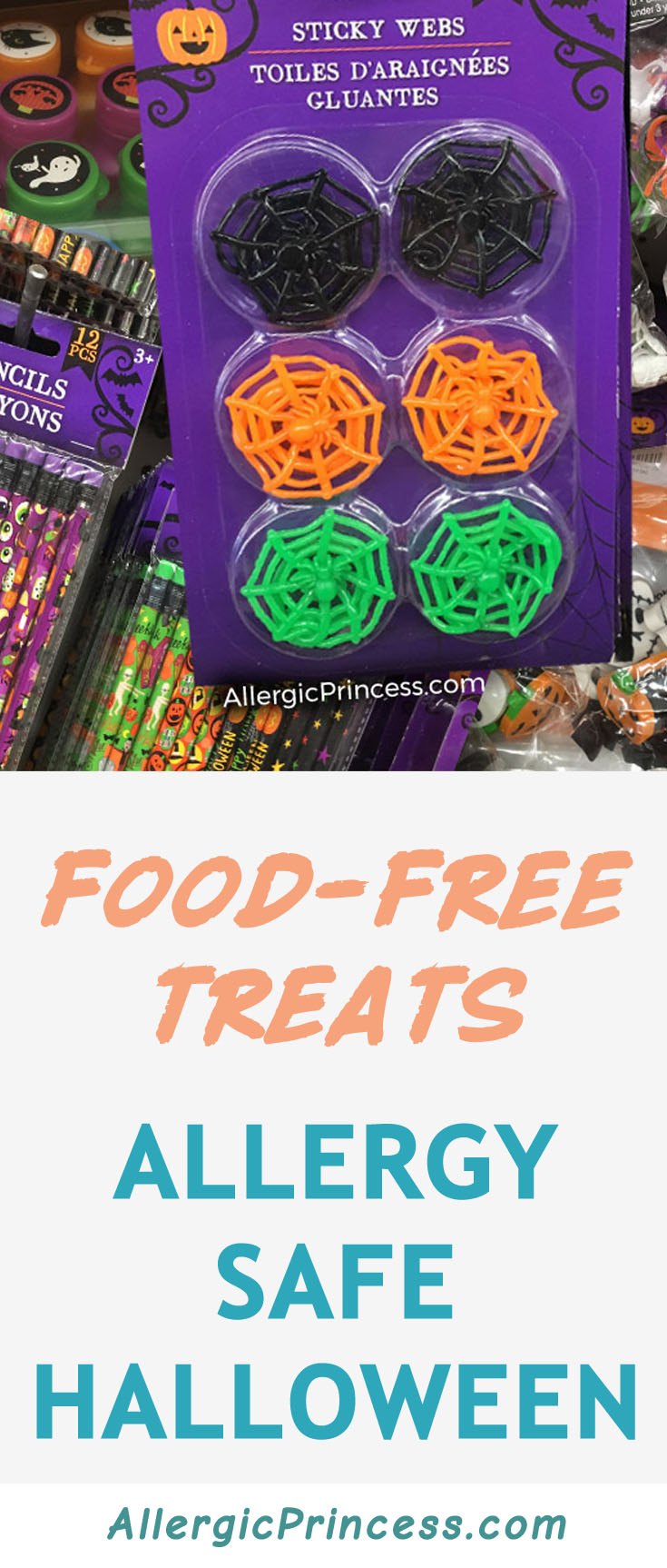 Food-free Halloween Treats for an Allergy Safe Trick or Treating