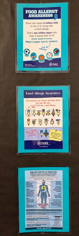 Food Allergy Awareness Poster