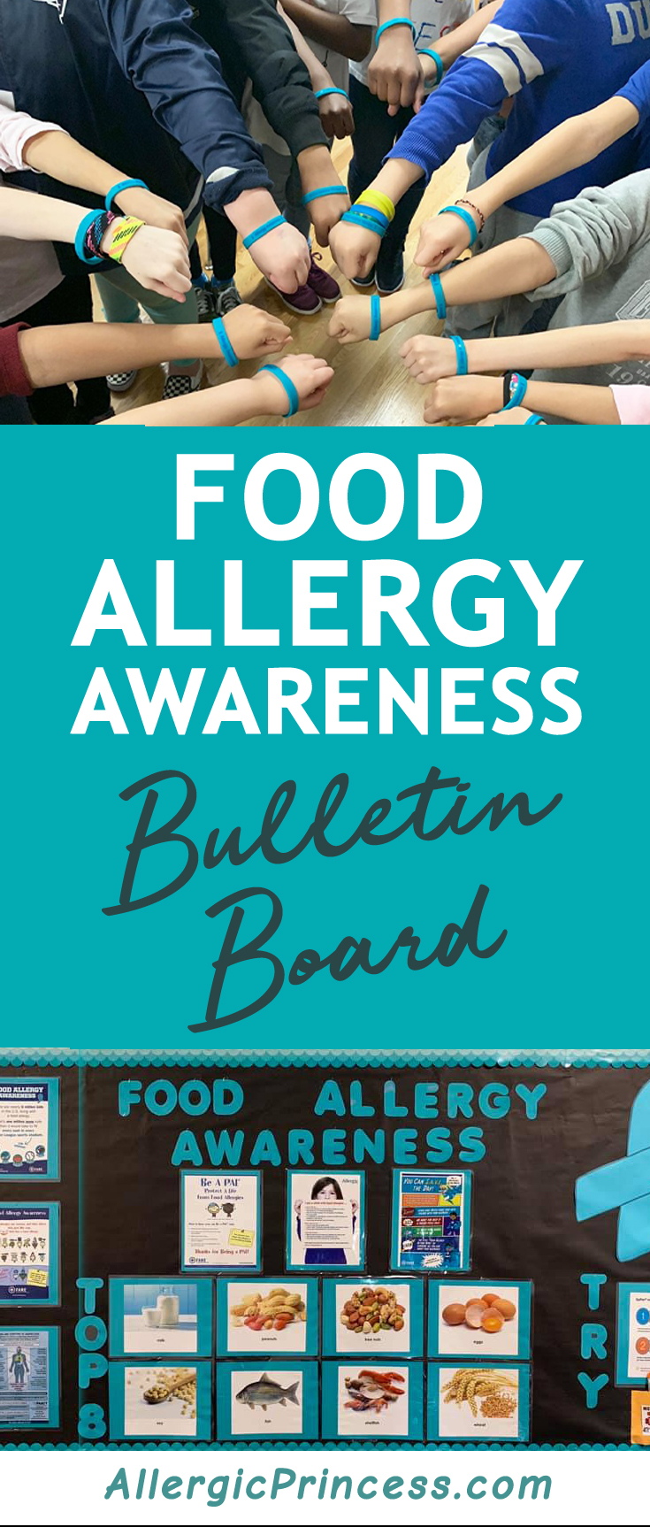 food allergy awareness poster bulletin board