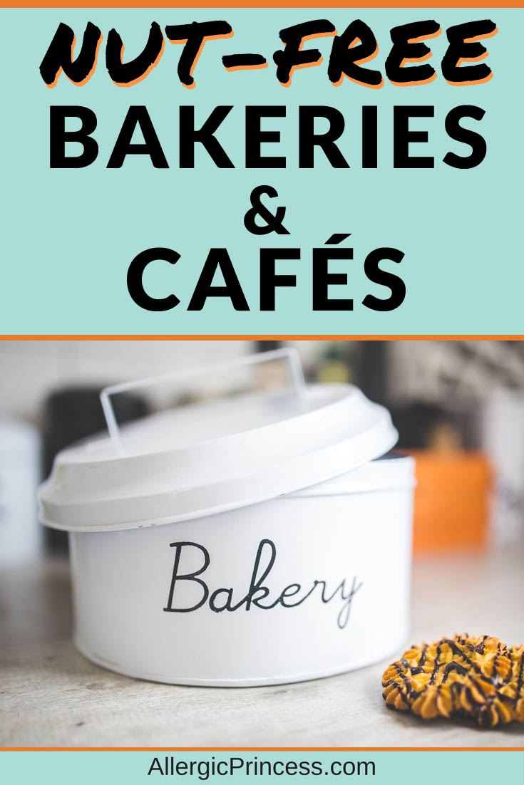 nut free bakeries and cafes