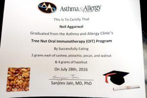 Neil OIT graduation certificate