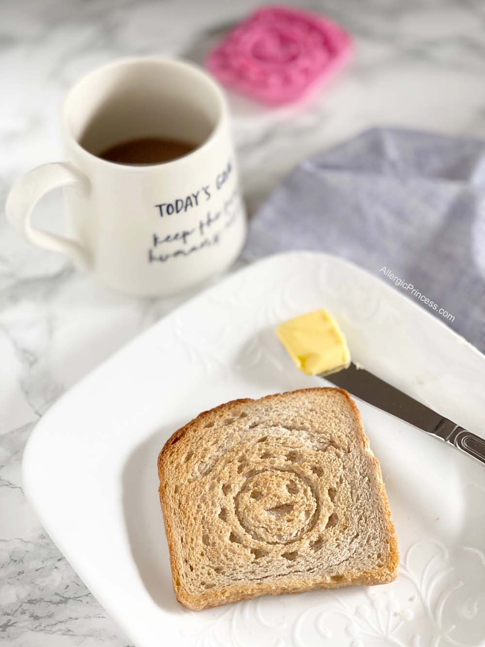 organic bread of heaven toast