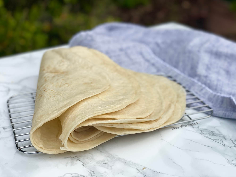 organic bread of heaven flour tortillas