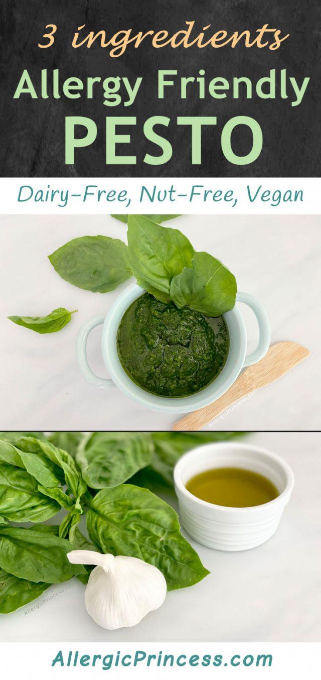 nut-free pesto vegan