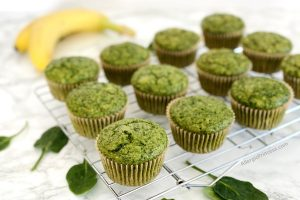 sweet green spinach muffin