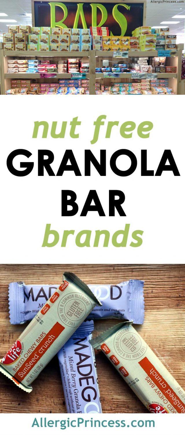 nut-free granola bar brands