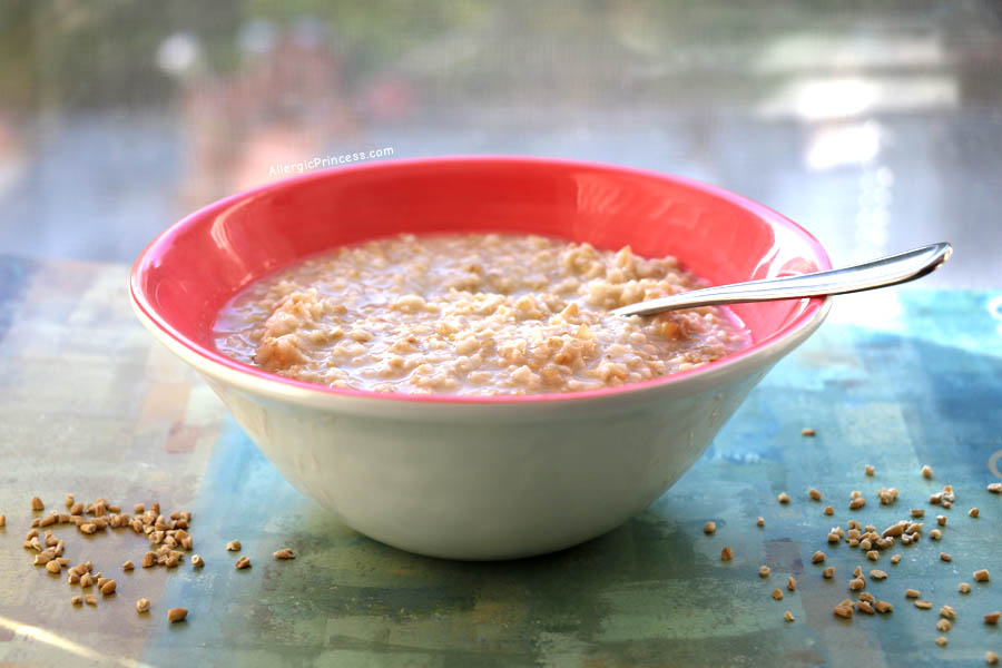 HOT STEEL CUT OATS – OVERNIGHT, NO COOK