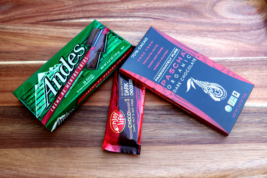 NUT-FREE CHOCOLATE BRANDS