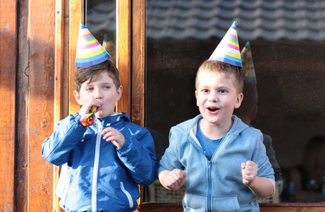 FOOD ALLERGIES AT BIRTHDAY PARTIES