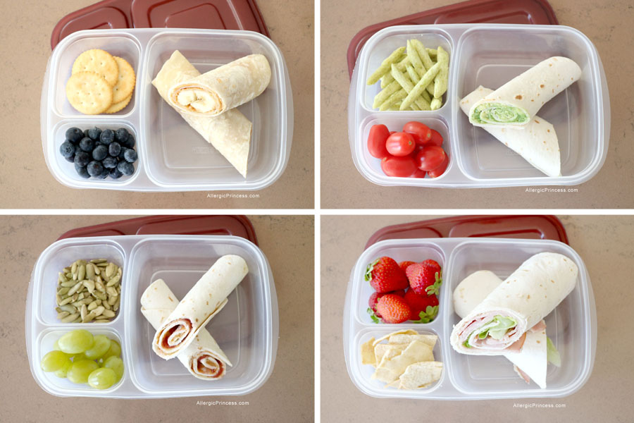 4 FAST AND EASY ALLERGY FRIENDLY LUNCHES