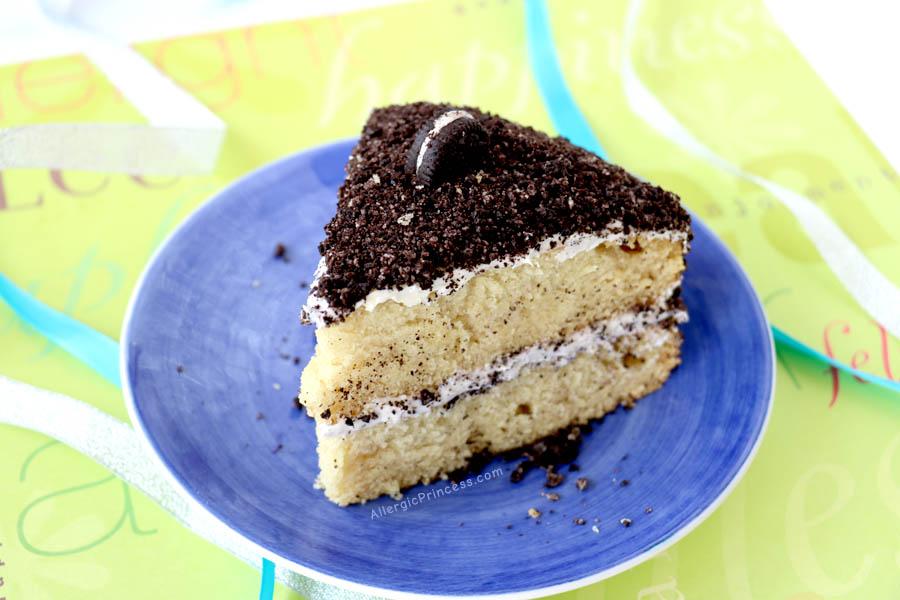 Gluten Free Dairy Free Egg Free Vanilla Cake