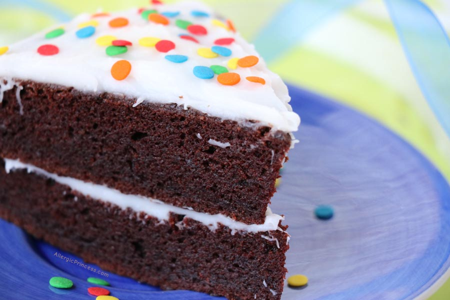 Nut Allergy Free Cake Mix