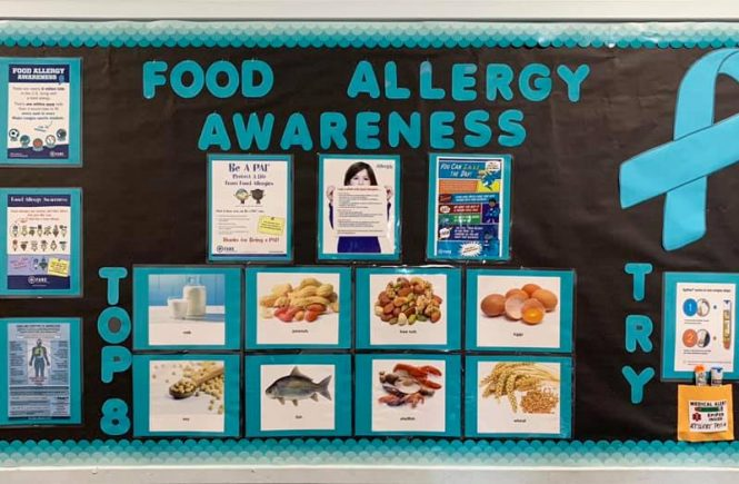 Food Allergy Awareness Poster Board