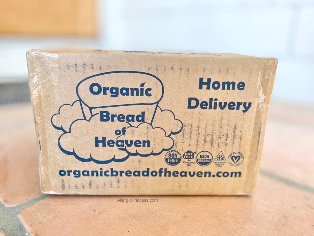 ORGANIC BREAD OF HEAVEN BAKERY DELIVERS