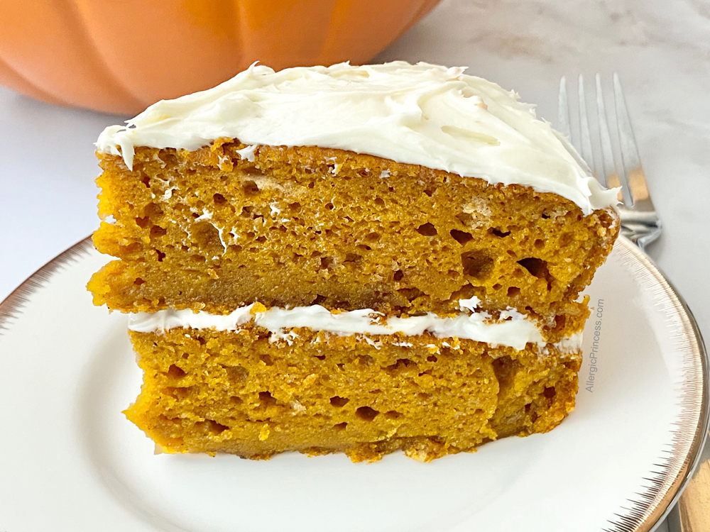 EASY GLUTEN-FREE PUMPKIN CAKE