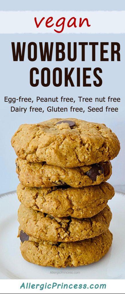 vegan wowbutter cookies