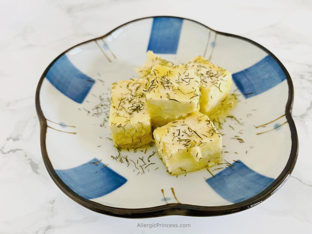 vegan feta cheese dill