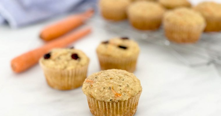 PROTEIN MUFFINS WITH QUINOA