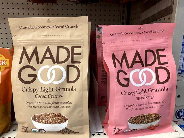 made good granola cereal