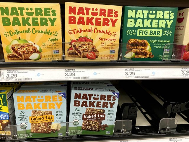 natures bakery snack bar
