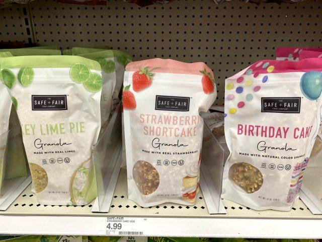 safe and fair granola